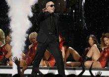 Pitbull en su actuación