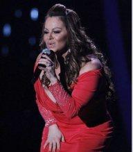 Jenny Rivera cantó y emocionó durante la Gala