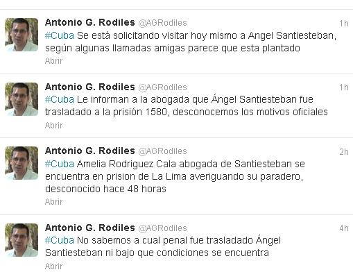 Angel Santiesteban prision