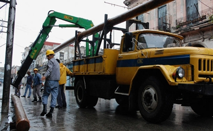 sistema electrico Cuba, desastre