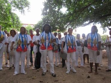 damas de blanco 1 de septiembre1