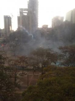 Altamira represion 13M 1