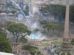 Altamira represion 13M 2