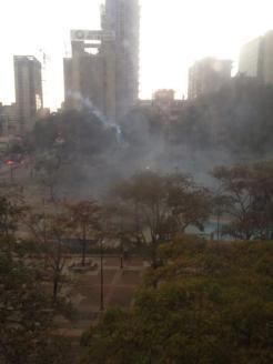 Altamira represion 13M 4