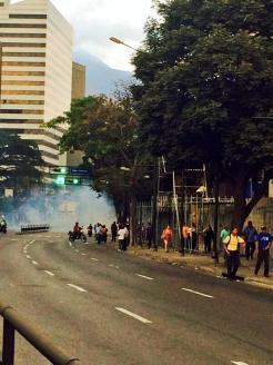 Altamira represion 13M 5