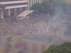 gases lacrimógenos Altamira