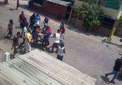 Heridos por colectivos armados 12M