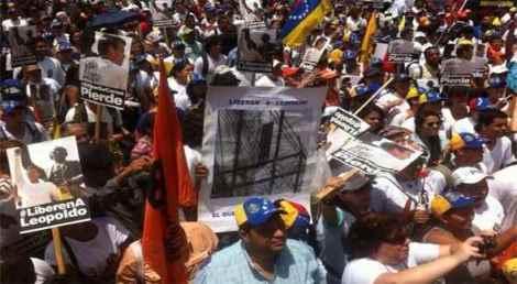 Leopoldo López , un mes detenido por la dictadura de NicolásMaduro